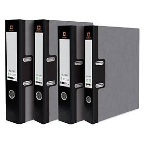 ELEPHANT 115 F Lever Arch File Cardboard F 2   Black