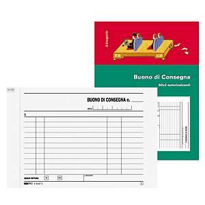 Blocco buono di consegna Edipro 50 x 2 fogli carta autoricalcante 17,5 x 12 cm