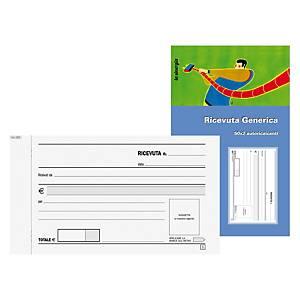 Blocco ricevute generiche Edipro 50 x 2 fogli carta autoricalcante