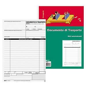 Blocco documento di trasporto Edipro 50 x 2 fogli 15 x 23 cm