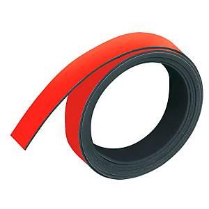 Magnetband Franken M802-01, Maße: 10mm x 1m, rot