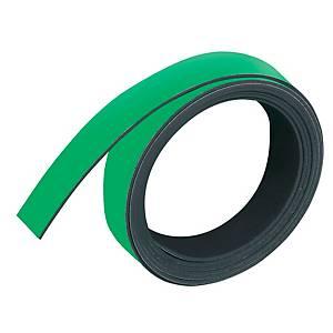 Magnetband Franken M802-02, Maße: 10mm x 1m, grün