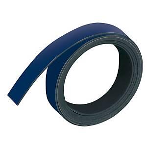 Magnetband Franken M802-03, Maße: 10mm x 1m, dunkelblau
