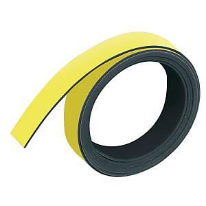 Magnetband Franken M802-04, Maße: 10mm x 1m, gelb