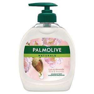 Savon mains Palmolive Naturals - lait d amande - flacon pompe de 300 ml