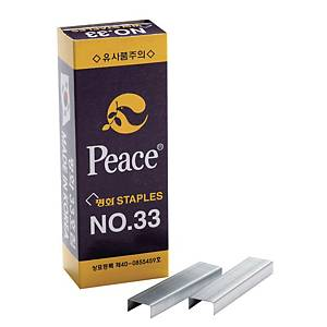 평화 33 스테이플 단침 5000개입