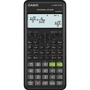 Casio FX82ES Plus druckender Rechner, 31 x 96 Punkt-Display, schwarz