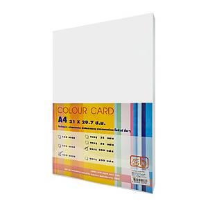 SB กระดาษการ์ดสี A4 180 แกรม ขาว 1 แพ็ค บรรจุ 200แผ่น