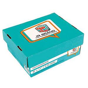 IQ CARBONLESS CONTINUOUS PAPER 3 PLY 9   X 11   -BOX OF 500 SHEETS BLUE BOX