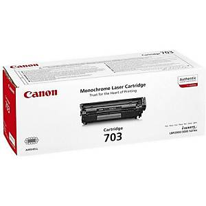 CANON toner lézernyomtatókhoz CRG-703 (7616A005) fekete