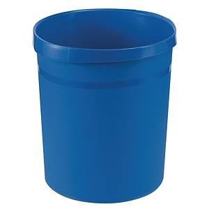 Papierkorb HAN Grip 18190, Fassungsvermögen: 18 Liter, blau