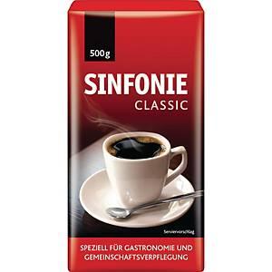 Kaffee Jacobs Sinfonie Classic, gemahlen, 500g