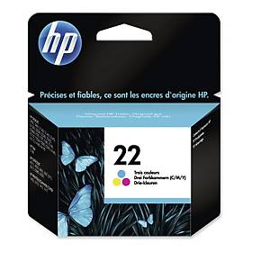 HP C9352AE inkjet cartridge nr.22 color [165 pages]