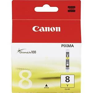 CANON tintasugaras nyomtató patron CLI8Y (0623B001) sárga