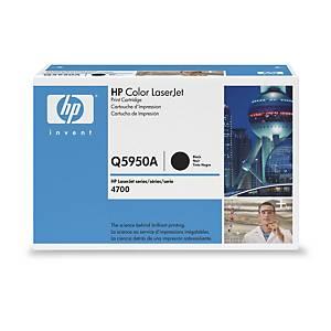 Cartouche toner HP 643A (Q5950A), noire