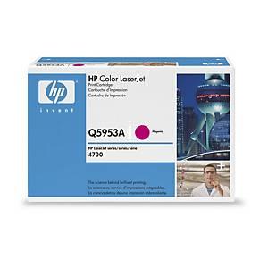 Cartouche toner HP 643A (Q5953A), magenta