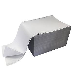 Listingpaper double 240x12 60g - box of 1000 sheets