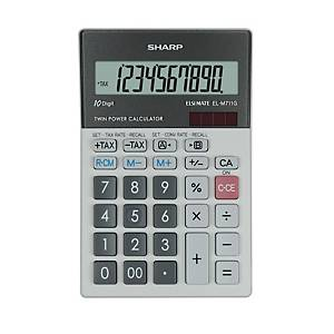 Stolová kalkulačka Sharp EL-M711G s 10-ciferním displejem