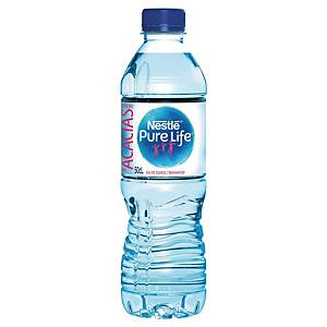 Nestle Pure Life Spring Water Still 50cl - Pack of 24