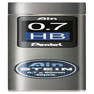 펜텔 PENTEL 아인슈타인 C277 샤프심 HB 0.7mm 40본입 (10개 구매시 갑구성)
