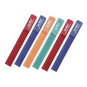 PK4 ACTTO CBL-02 CABLE TIE ASSORTED COL