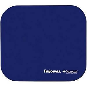 Tapis de souris Fellowes Microban, caoutchouc naturel, bleu