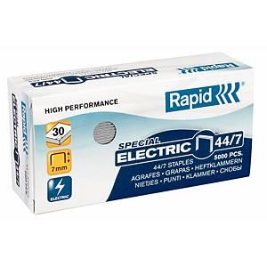 Agrafes Rapid Strong 44/7, pour agrafeuse électrique, les 5.000 agrafes