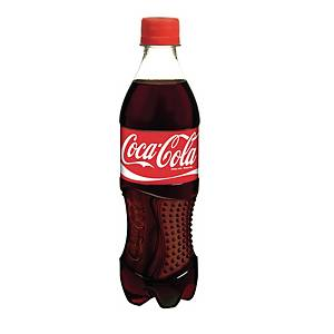 Coca-Cola frisdrank, pak van 24 flessen van 0,5 l