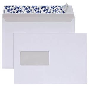 Briefumschläge C5, mit Fenster, Haftklebung, 90g, weiß, 500 Stück
