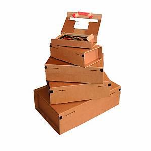 Versandkarton Colompac Paket POST, Größe M A4, Innenmaße 305 x 212 x 110mm