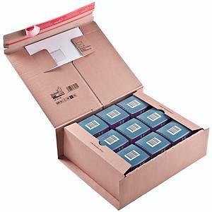 Versandkarton Colompac Paket POST, Größe L A4+, Innenmaße 330 x 290 x 120mm