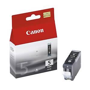 CANON tintasugaras nyomtató patron PGI-5BK (0628B001) fekete