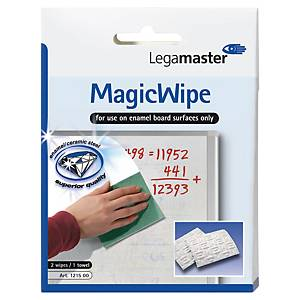 Tafelwischer Legamaster 121500 Magic Wipe, 2 Stück