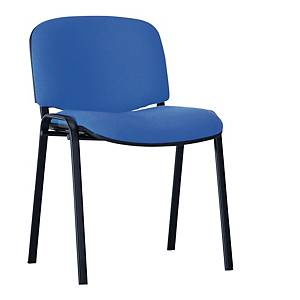 Krzesło NOWY STYL Entero, czarno-niebieskie