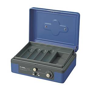 CARL CB-8200 Cash Box with Key & Lock