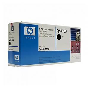 Toner laser HP Q6470A N.501A 6K nero