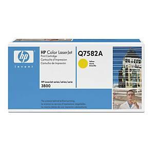 Cartouche toner HP 503A (Q7582A), jaune