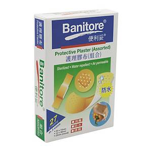 Banitore Protective Plaster (Assorted) - Box of 27