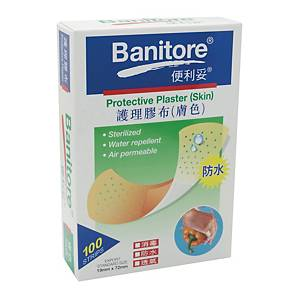 Banitore Protective Plaster (skin) - Box of 100