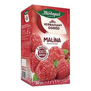Herbata owocowa HERBAPOL Herbaciany Ogród malinowa, 20 torebek