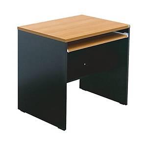ITOKI โต๊ะทำงานไม้ WCTF80 สีเชอรี่/ดำ