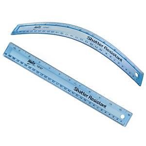 Helix HRSR Shatter Resistant Ruler 12 inch