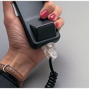 Anti-enrouleur de cordon téléphonique