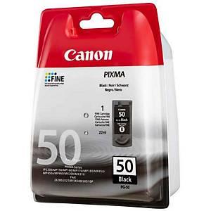 CANON tintasugaras nyomtató patron PG50 (0616B001) fekete