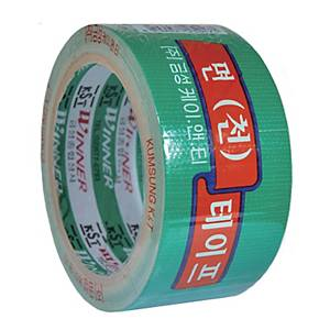 GEUMSUNG COTTON TAPE 50MM X 10M GREEN