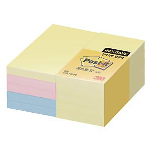 POST-IT 656-10A NOTE 51X76 ASSORTEDRT