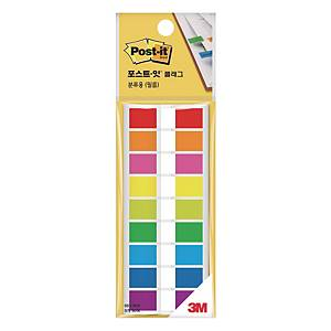 PK9 POST-IT 683-9KN FLAG 12X44 ASSORTEDORTED