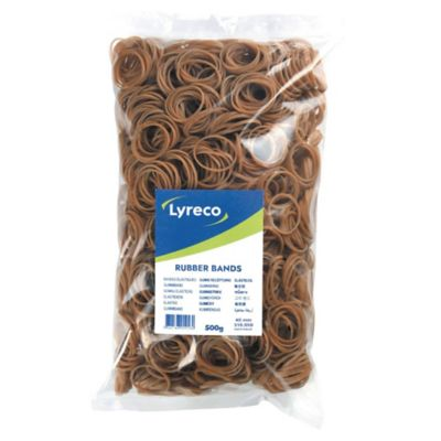 Rubber Bands 3 x 120 mm Size 36 Box of 500g