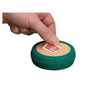 Finger-Anfeuchter mit Gummischwamm Lyreco, 80 mm, grün/weiss