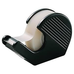 Lyreco houder voor plakband, plastic, zwart
